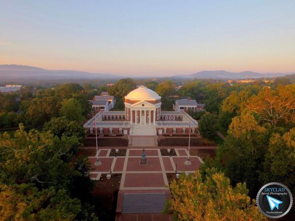 Aerial View of UVA