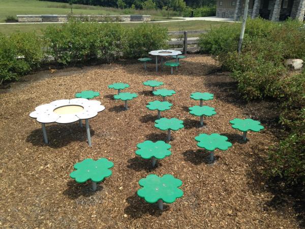Playground at Amberleigh Park in Dublin, Ohio