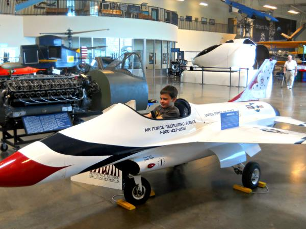 Aerospace Museum of California in Sacramento