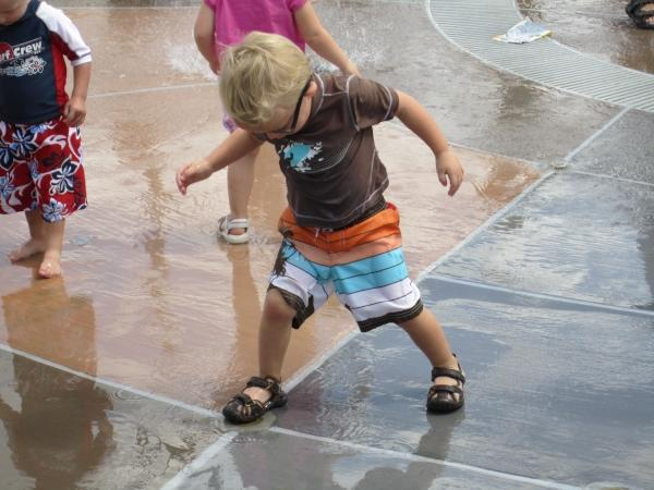 north park splash pad