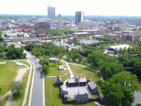 Old Fort Skyline - Fort Wayne, IN