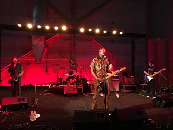 Black Joe Lewis & the Honeybears at the Bud Light Summer Live Series