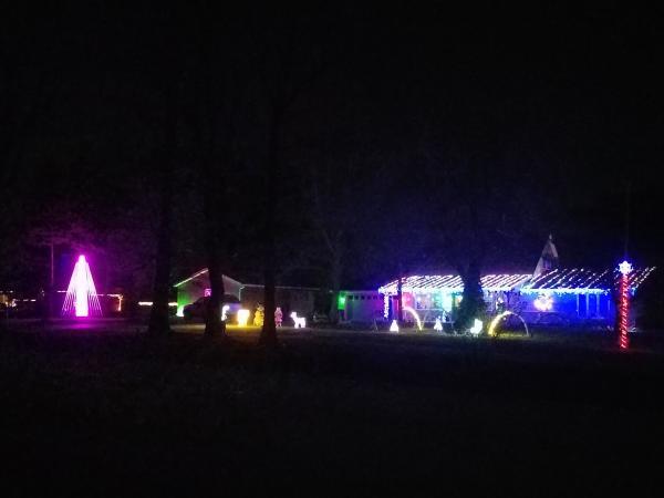 9432 Hefflefinger Road - Best Christmas Lights Display - WEST - Fort Wayne