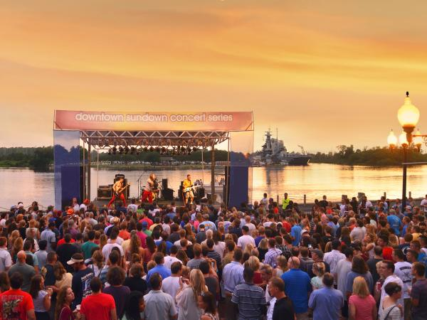 Wilmington Downtown Sundown Concert
