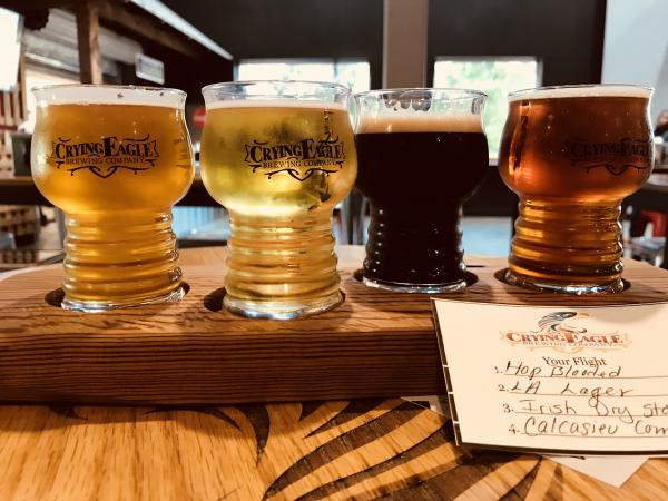 Bistro at Crying Eagle Beer Flight