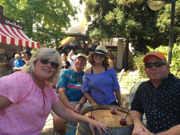 CA State Fair Save Mart Wine Garden