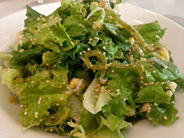 green salad the golden