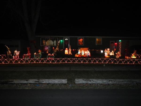 Best Christmas Lights Display - Werling Drive