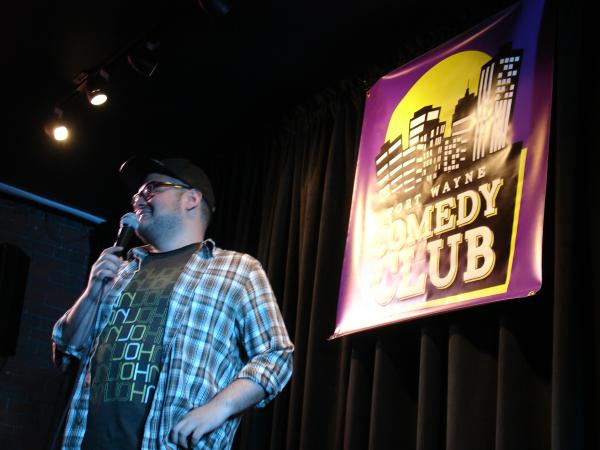Comedian Antonio Aguilar takes the stage at Fort Wayne Comedy Club