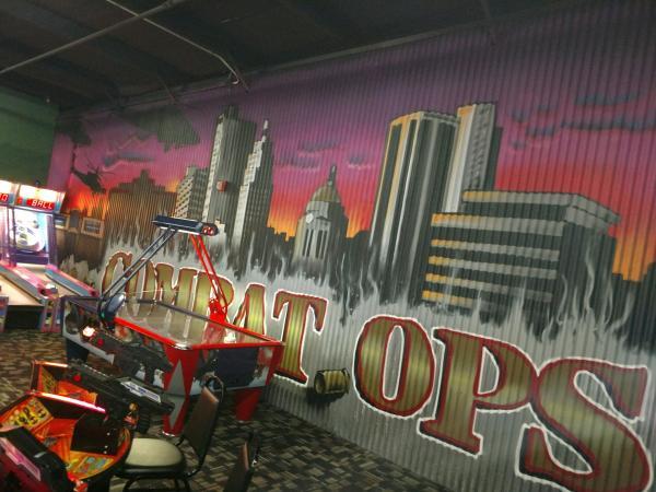 Combat Ops Arena - Mural - Fort Wayne, IN