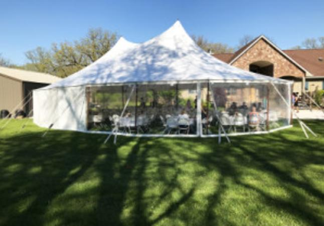 Stillwater Rope and Pole Tent