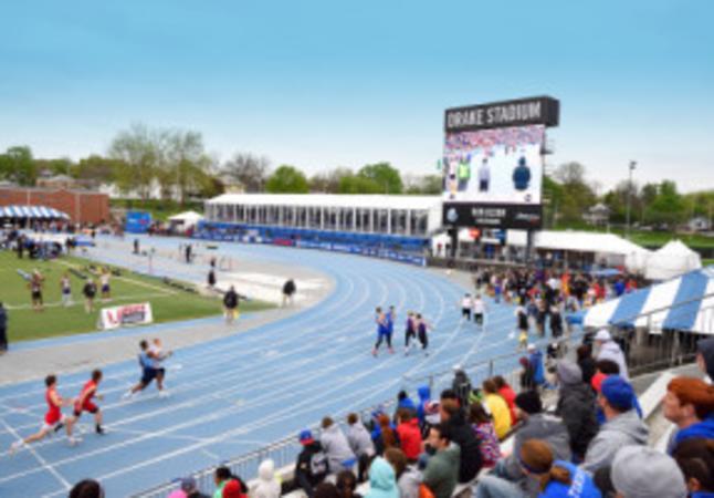 Drake Stadium - Large Sporting Event