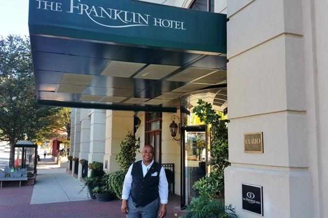Customer Service at the Franklin Hotel