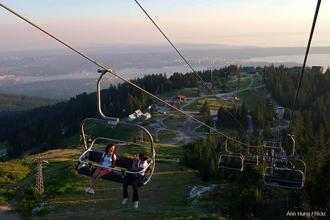 Grouse Mountain Summer