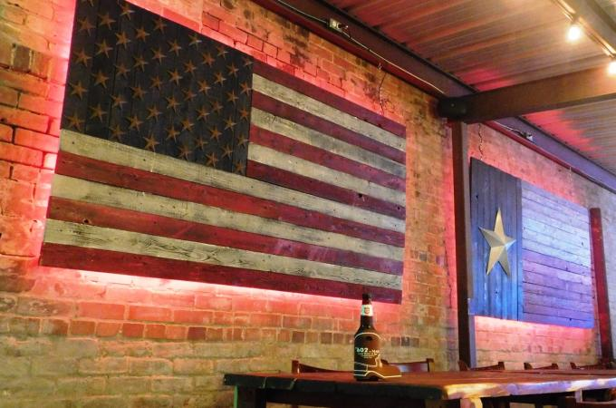 american flag drink