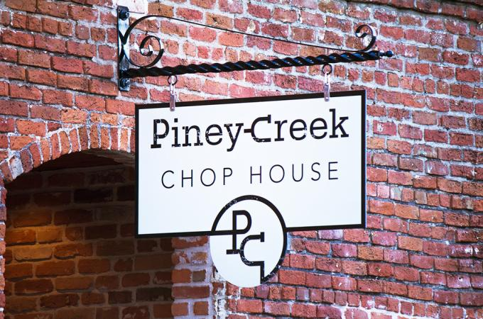 Piney Creek Chophouse Photo - Entry Sign