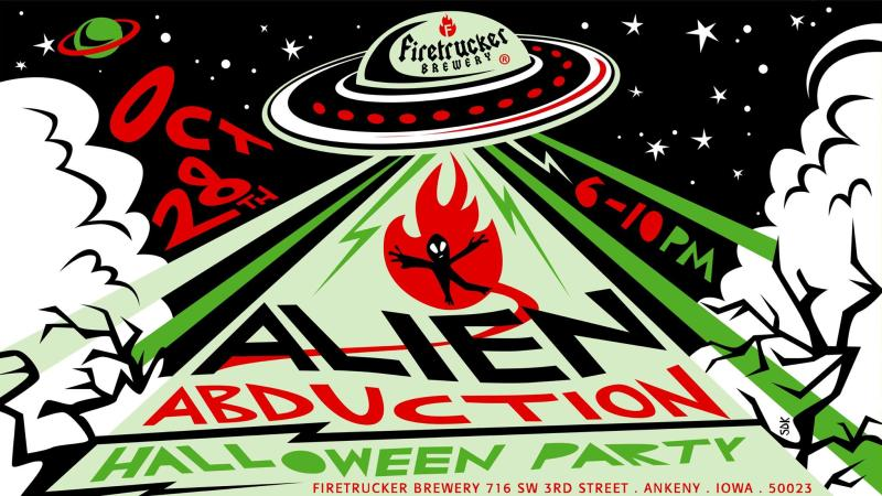 Alien Abduction Firetrucker Brewery