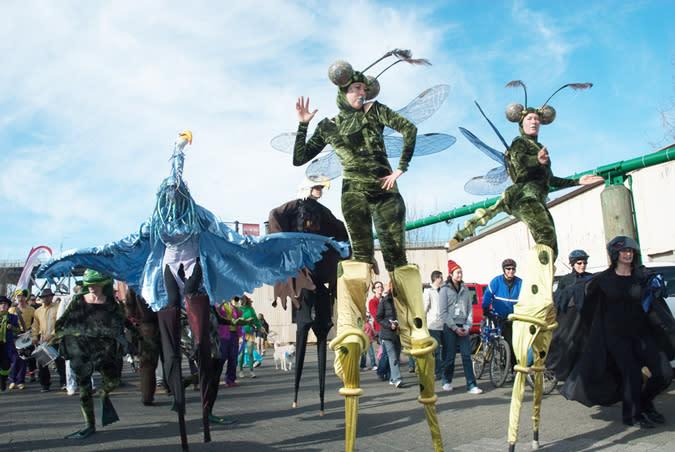 Granville Island Winterruption Festival