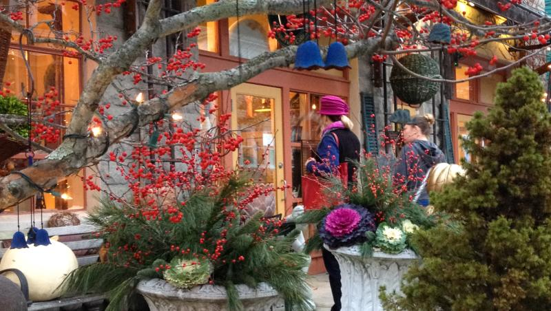 Winter holiday shopping The Cottage