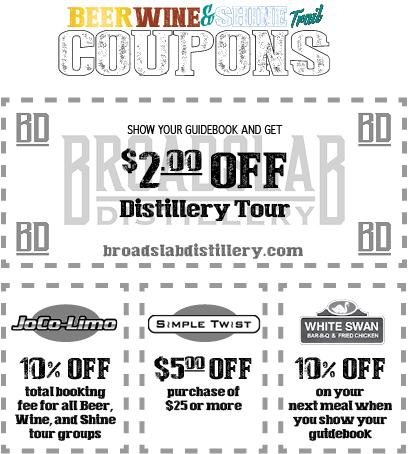 Beer, Wine & Shine coupon