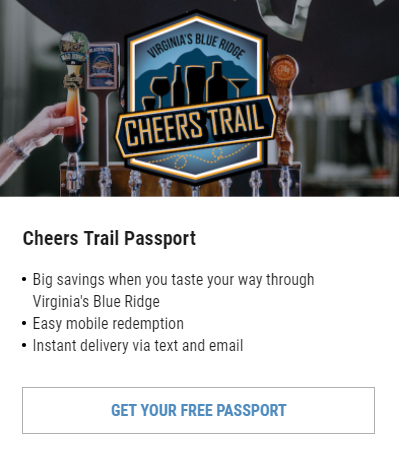 VBR Cheers Trail Passport