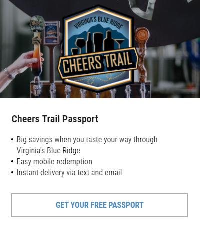 VBR Cheers Trail Passport