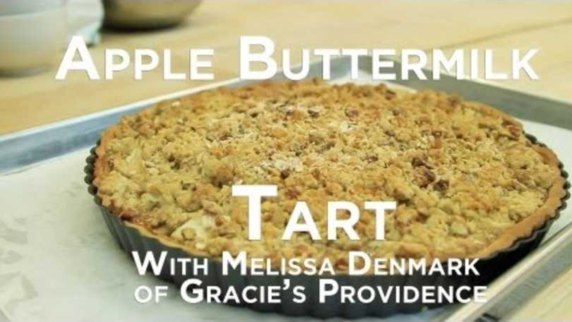 Apple Buttermilk Tart Demo
