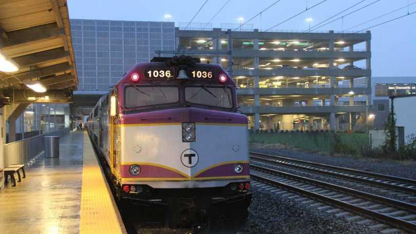 Train at TF Green