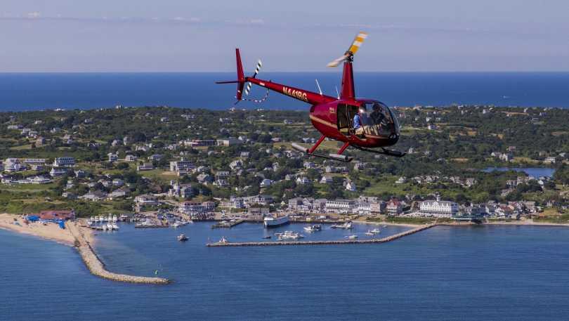 Heliblock Tour over Block Island