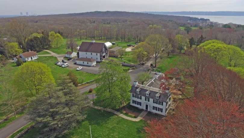 Mount Hope Farm aerial