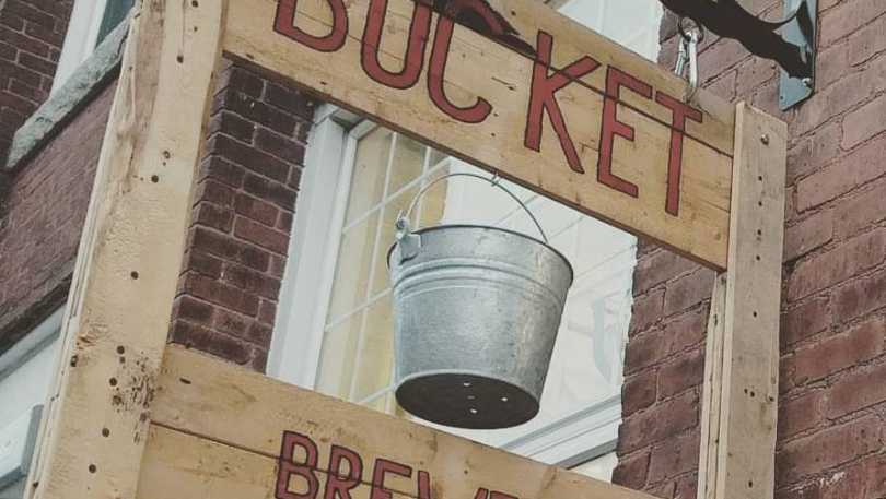 Look for the sign of the Bucket