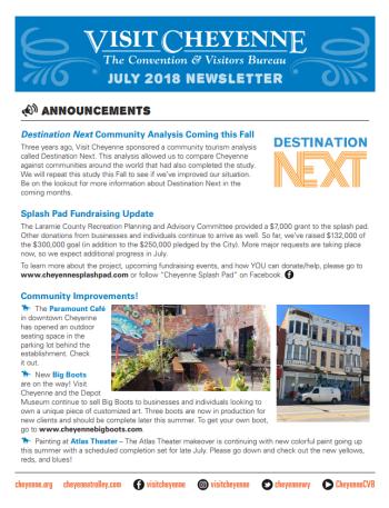 July 2018 newsletter thumb
