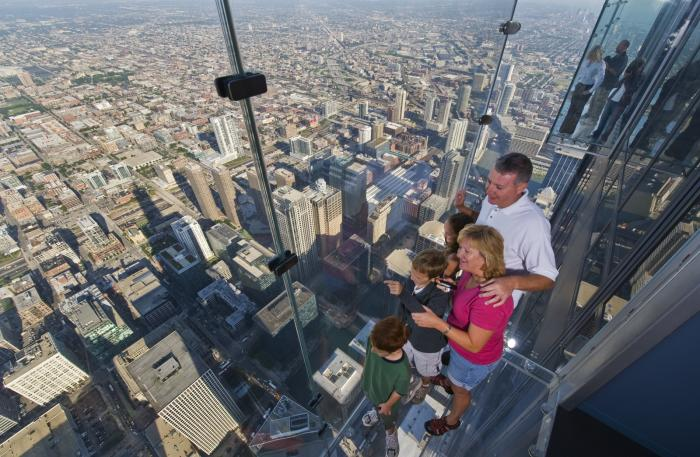 Willis Tower: the Ledge at Skydeck