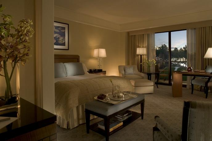 Umstead Hotel room interior