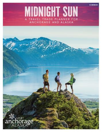 Summer in Anchorage Travel Trade publication.