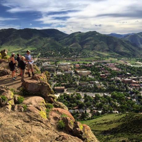 Golden, Colorado, overlook