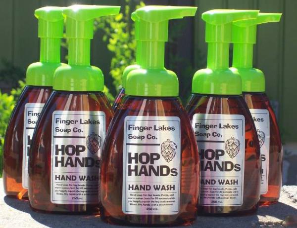 Hop Hands Finger Lakes Soap Company