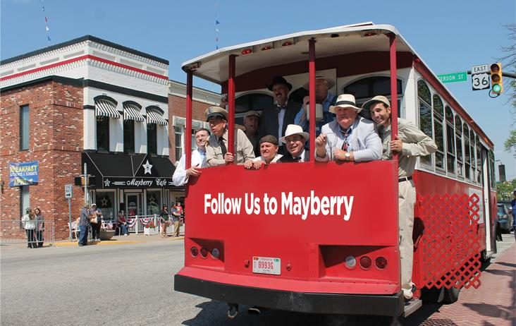 Mayberry in the Midwest Trolley
