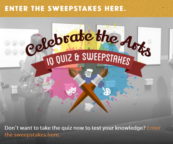 Enter the Stevens Point Area Celebrate the Arts Sweepstakes here.