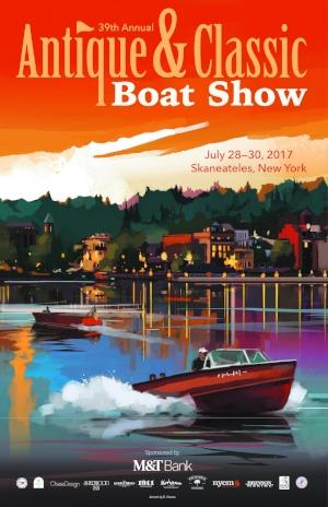 Skaneteles Antique and Classic Boat Show