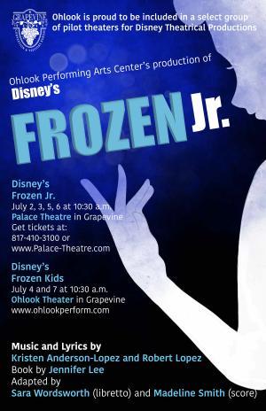 Frozen jr PAC live event