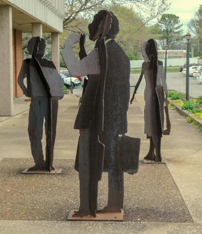 Three Figures by Vander Weg