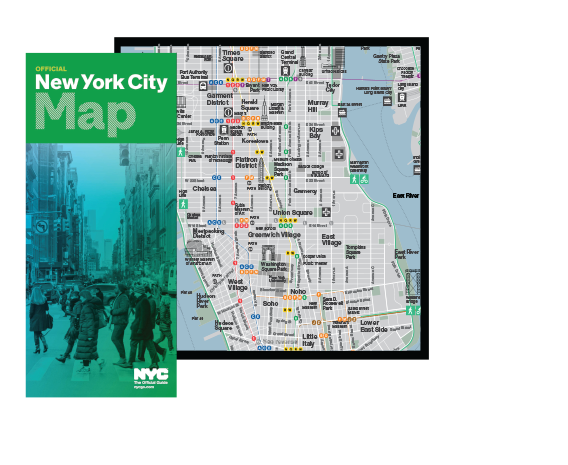 NYC Official Visitor Map