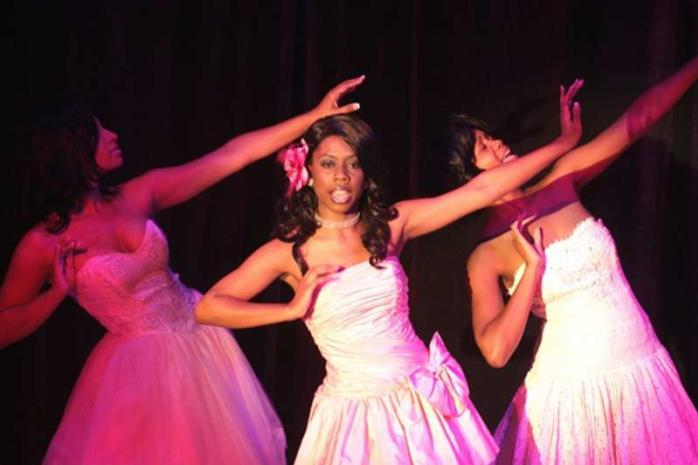 Dancers Performing at Ensemble Theatre