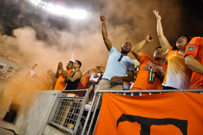 Houston Dynamo Soccer Fans