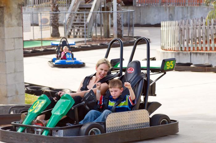 Andretti Thrill Park in Melbourne