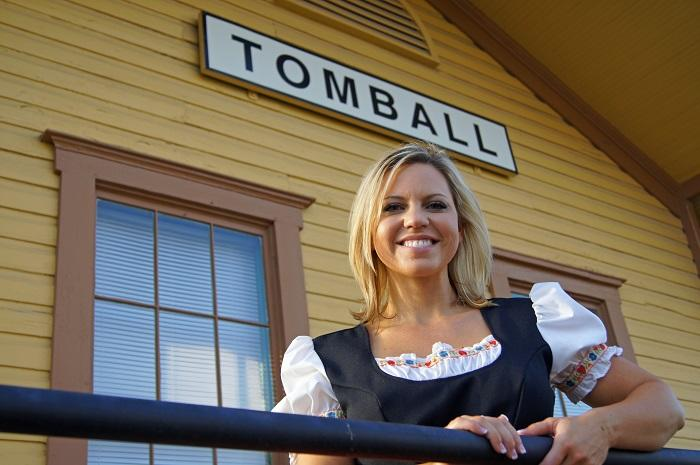 Tomball Train Depot, Tomball
