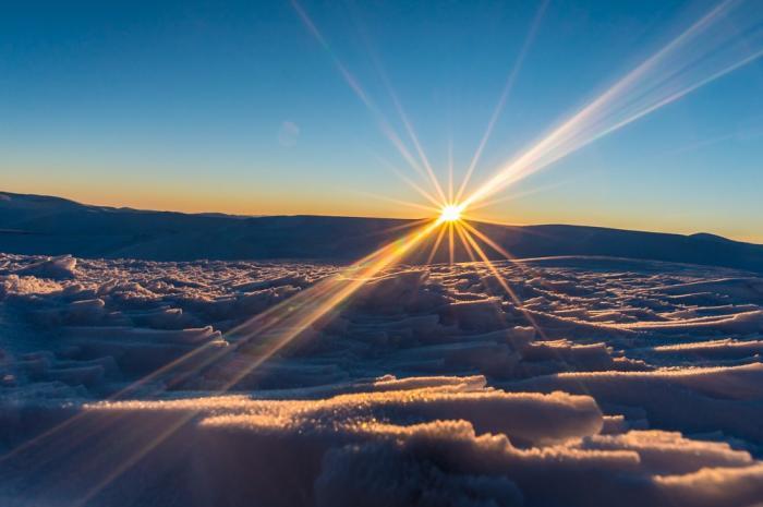 Sunrise during Winter Solstice - Frank Stelges - Fairbanks Alaska