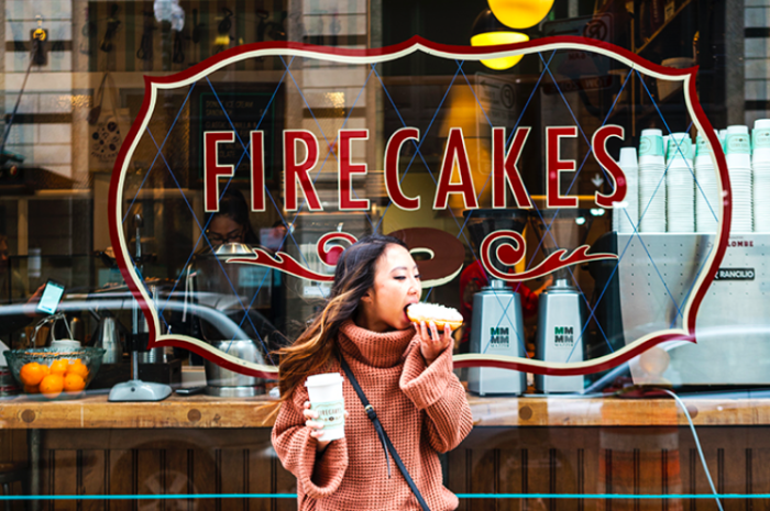 Fire cakes