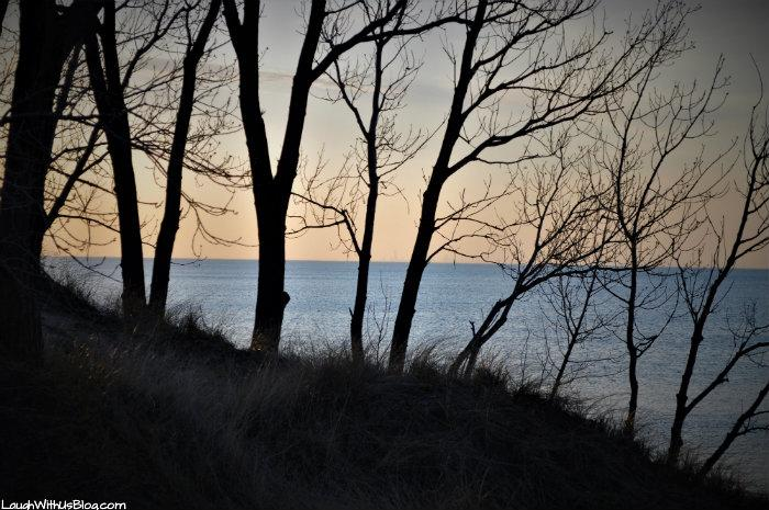 Indiana Dunes West Beach sunset